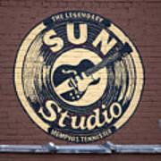 Sun Studio Memphis Tennessee Poster by Wayne Higgs