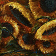 Sunflowers Poster by Michael Lang