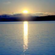 Sunrise 6 8 17 Malletts Bay Poster