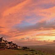 Sunrise At Tagaytay Highland Poster