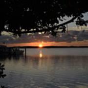 Sunset At Islamorada Poster