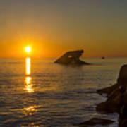 Sunset Beach Poster