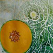 Sweet Melon Patterns Poster