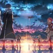 Sword Art Online Game Poster