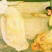 Symphony In White No 3 James Abbott Mcneill Whistler Poster