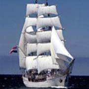 Tall Ship Europa Poster
