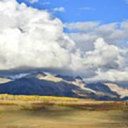 Telluride Skyline From Wilson Mesa Poster