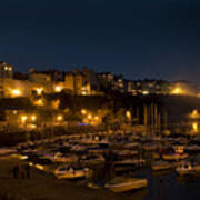 Tenby By Night Poster