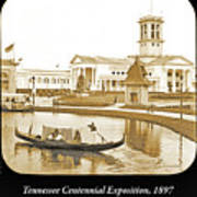 Tennessee Centennial Exposition, Auditorium Building, Lake And G Poster