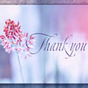Thank You 1 Poster