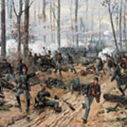 The Battle Of Shiloh Poster