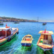 The Bosphorus Istanbul Poster