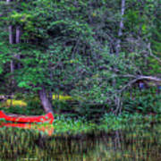 The Canoe Poster