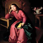The Child Virgin Asleep Poster