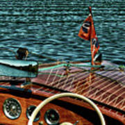 The Classic 1958 Chris Craft Poster