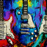 The colors of music. Poster