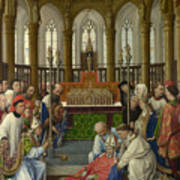 The Exhumation Of Saint Hubert Poster