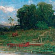 The Farm Landing Poster