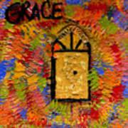The Golden Door Of Grace Poster