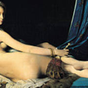The Grand Odalisque Poster