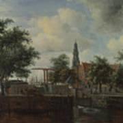 The Haarlem Lock Amsterdam Poster