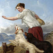 The Highland Lassie Poster