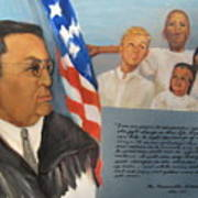 The Honorable Amos T. Hall Poster