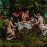 The Infancy Of Jupiter Poster