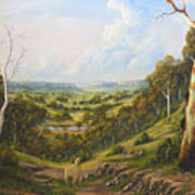The Lost Sheep In The Scrub Poster