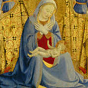 The Madonna Of Humility Poster