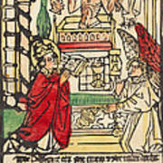 The Mass Of Saint Gregory Poster