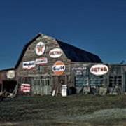 The Nostalgia Barn Poster
