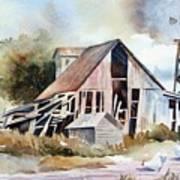 The Old Barn Poster by Bobbi Price