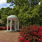 The Old Well At Chapel Hill Poster
