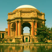 The Palace Of Fine Arts Poster