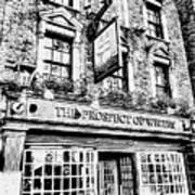 The Prospect Of Whitby Pub London Art Poster