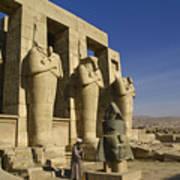 The Ramesseum Poster