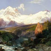 The Teton Range Poster