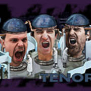 The Three Tenors Poster
