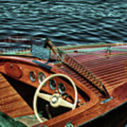 The Vintage 1958 Chris Craft Poster
