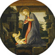 The Virgin Adoring The Child Poster
