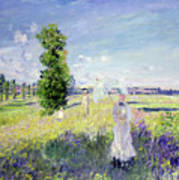 The Walk Poster by Claude Monet