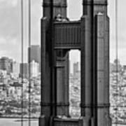 The World Famous Golden Gate Bridge In San Francisco, California Poster