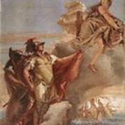 Tiepolo Villa Valmarana Venus Appearing To Aeneas On The Shores Of Carthage Giovanni Battista Tiepolo Poster