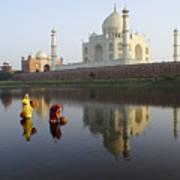 Timeless Taj Mahal Poster