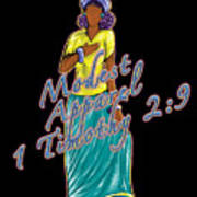 1 Timothy 2vs.9 Modest Apparel Poster
