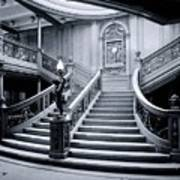 Titanic's Grand Staircase Poster