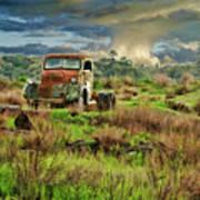 Tornado Truck Poster