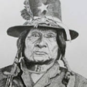 Tosawi  Comanche Chief Poster