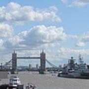 Tower Bridge.  Poster